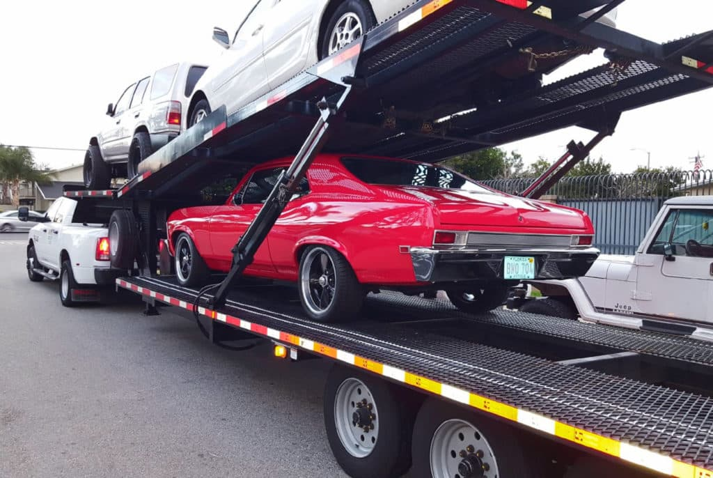Image result for muscle car transport