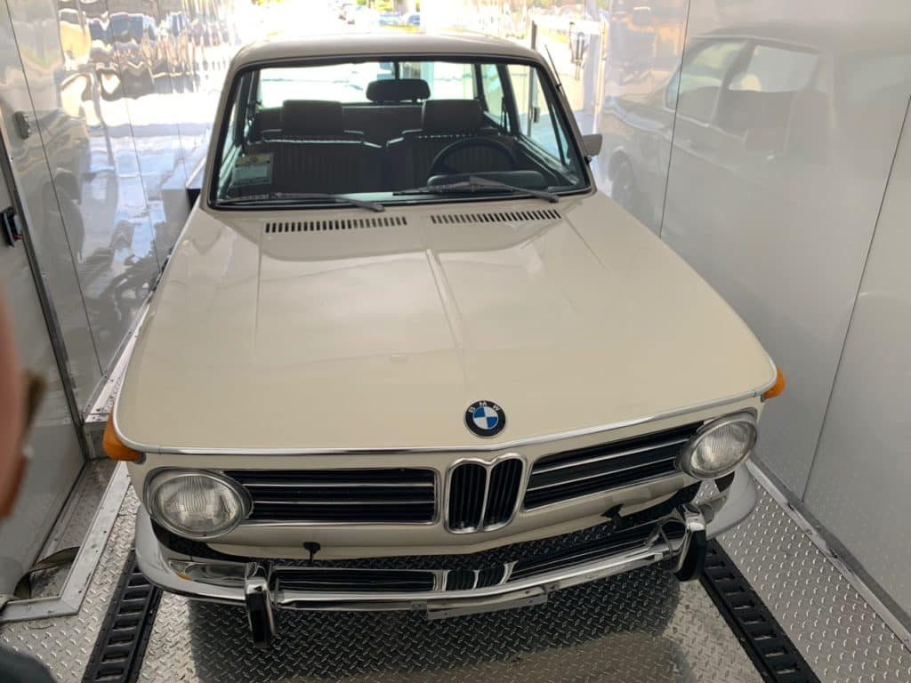 classic BMW for auto transport