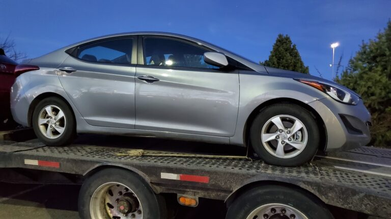 hyundai elantra nebraska car shipping