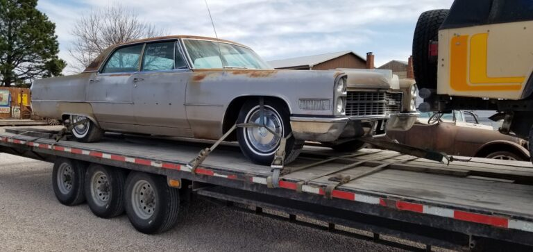 cadillac deville michigan car shipping