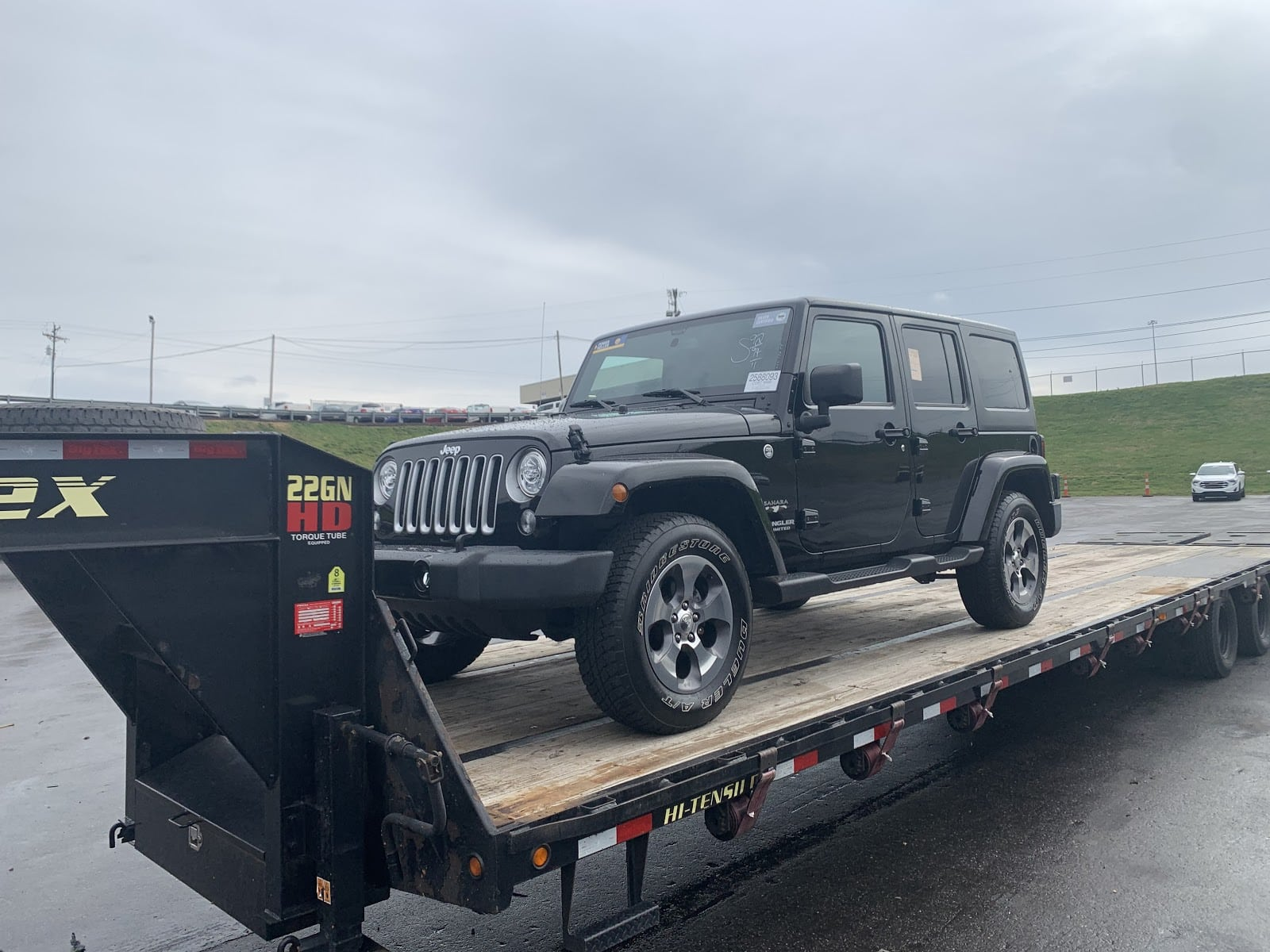 jeep wrangler for car shipping in wisconsin
