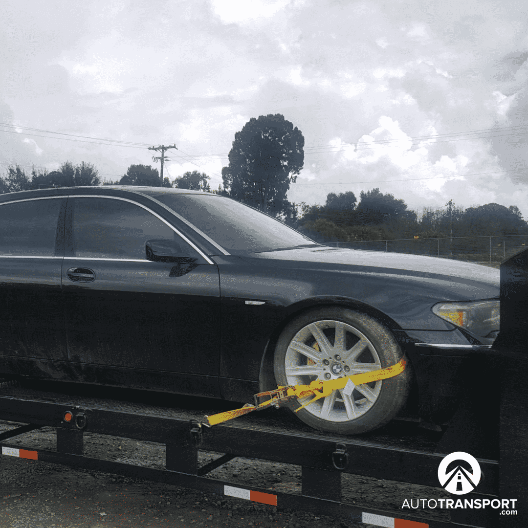 black bmw for kentucky auto transport