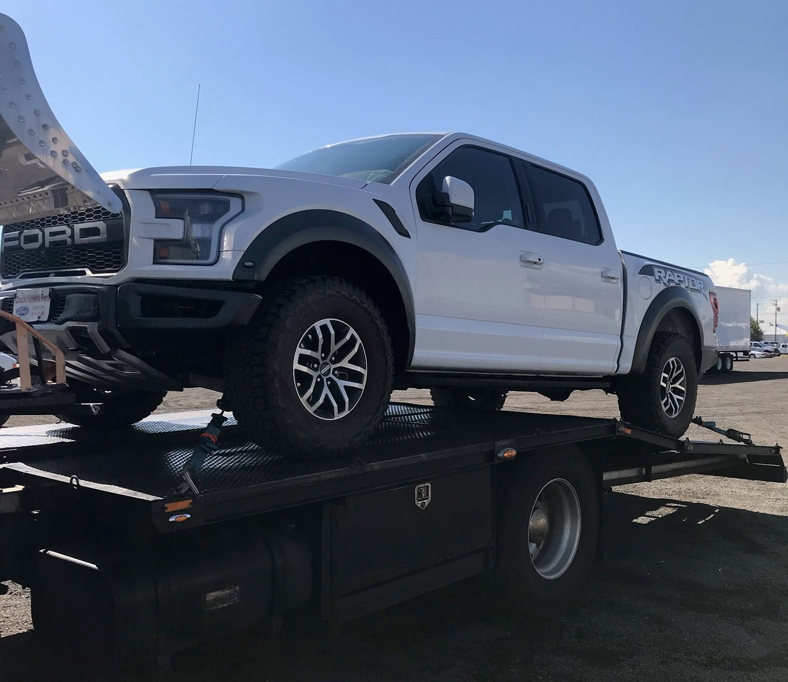 ford raptor minnesota auto transport