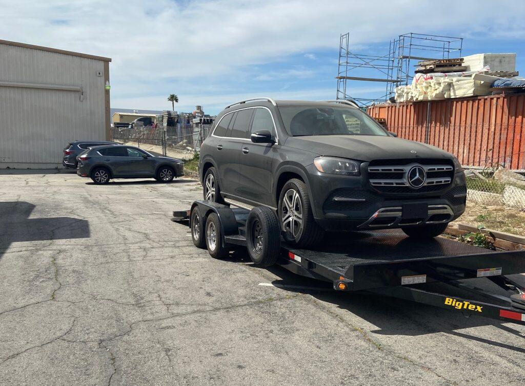 mercedes wyoming car shipping