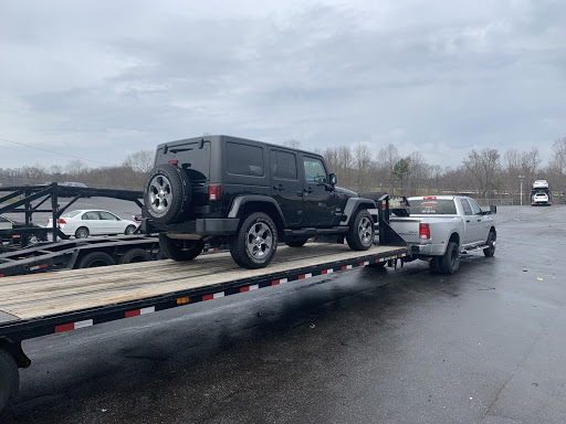 transporting a jeep wrangler to nevada