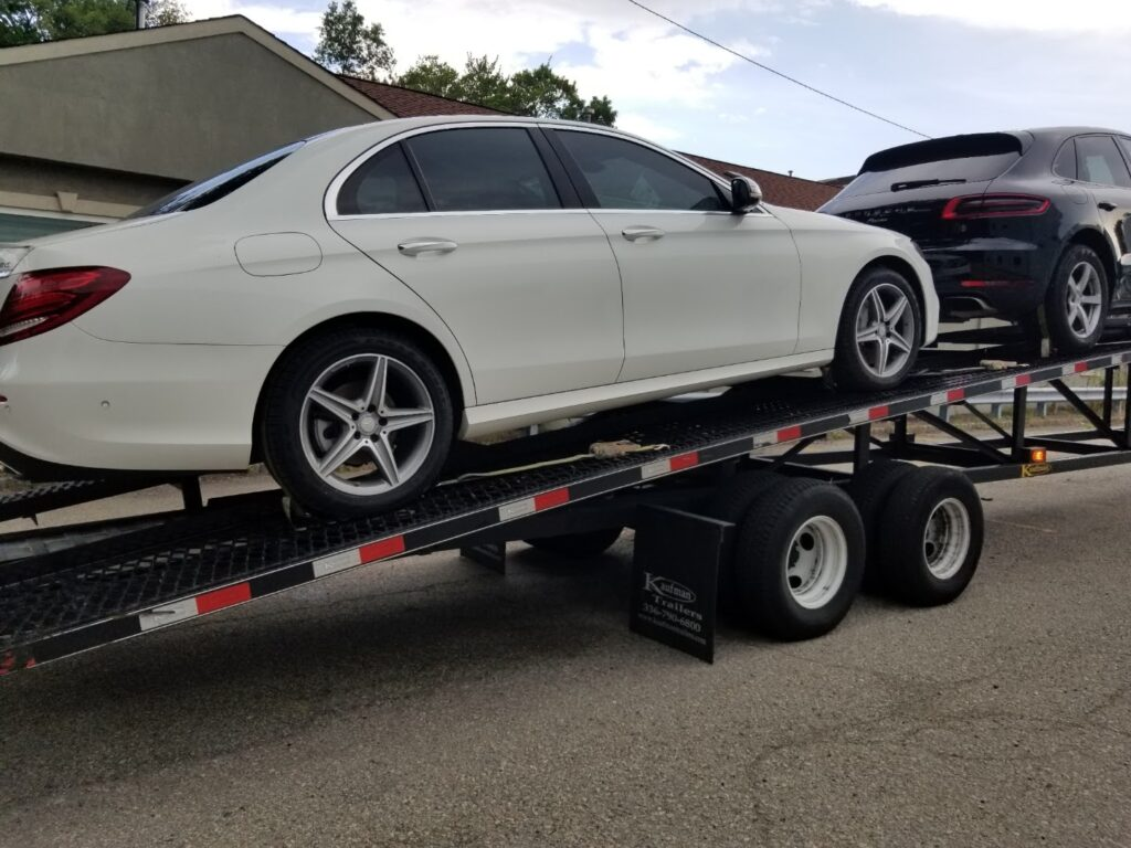 Auto transported in Colorado