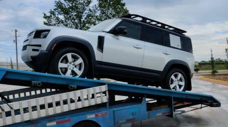 2020 Land Rover Defender Car Shipping