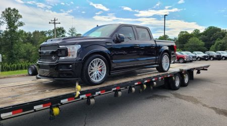 ford f150 pick up crew cab car shipping