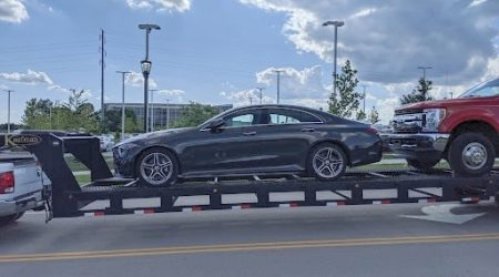 Transporting a Mercedes-Benz CLS-Class sedan from Louisville, Kentucky to Phoenix, Arizona by Autotransport.com (800) 757-7125