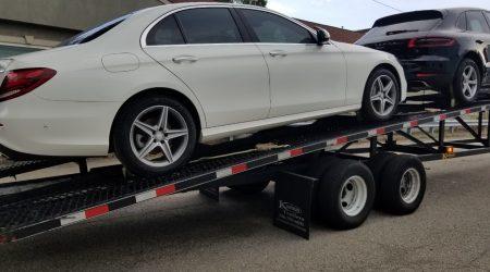 Auto transported in Colorado