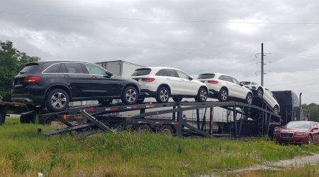Shipping cars in California
